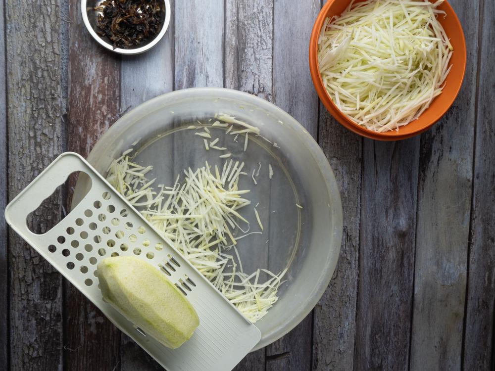 Image of Vietnamese Papaya Salad - Step 1 opt 1