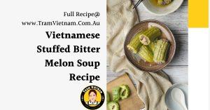 image of Vietnamese Stuffed Bitter Melon Soup Recipe (1)